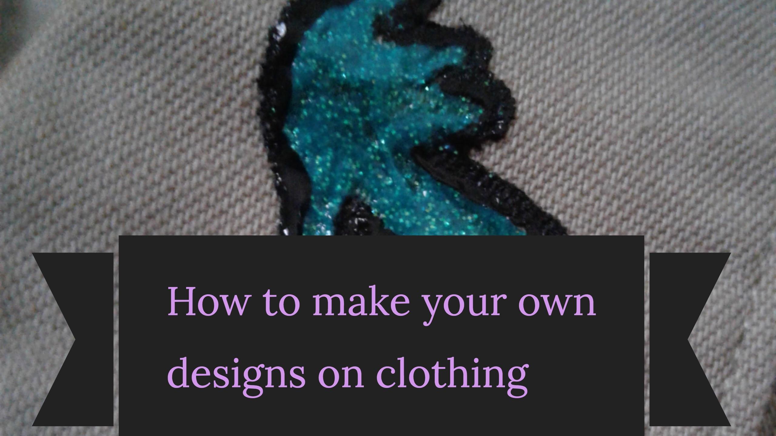 Fabric Paint Something